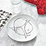 Fish Sketch Flat Plate