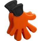 "Orange Magnet-Clip. 2""x2.5"""