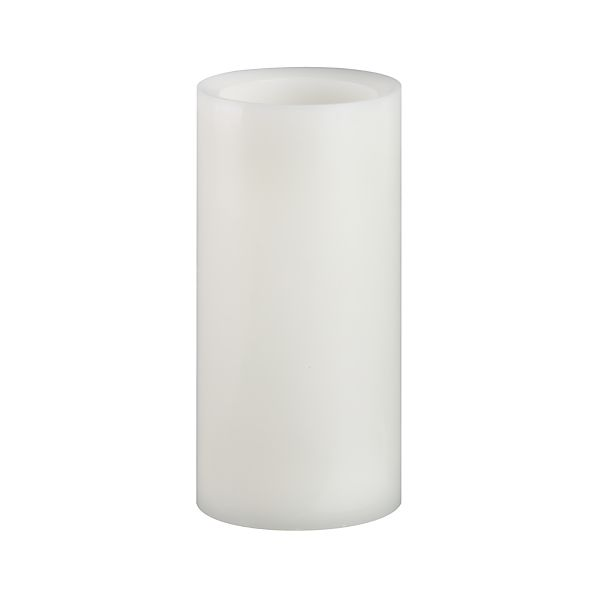 "Flameless 3""x6"" Pillar with Timer"