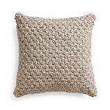 "Flannery 18"" Pillow with Feather-Down Insert"