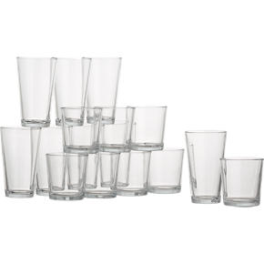 Flare 16-Piece Barware Set