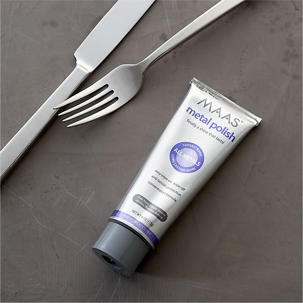 MAAS® Flatware and Metal Polish in Cleaning | Crate and Barrel