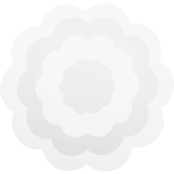 Fleur White Placemat