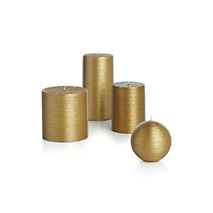 Flicker Gold Candles