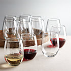 Set of 12 flock stemless wine glasses. 21 oz.