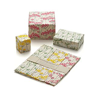 Floral Gift Wrap Set