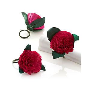 Flores Pink Napkin Ring