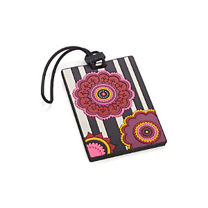 Flower Luggage Tag