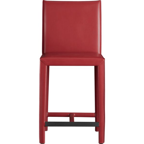 "Folio Bonded Leather 24"" Bar Stool"