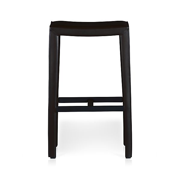 "Folio Bonded Leather 30"" Backless Bar Stool"