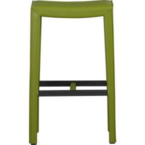 Folio Kiwi Leather 30 Backless Barstool