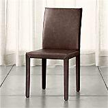 Folio Saddle Top-Grain Leather Side Chair