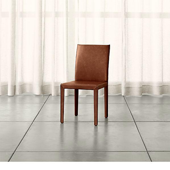 Folio Sienna Top-Grain Leather Dining Chair