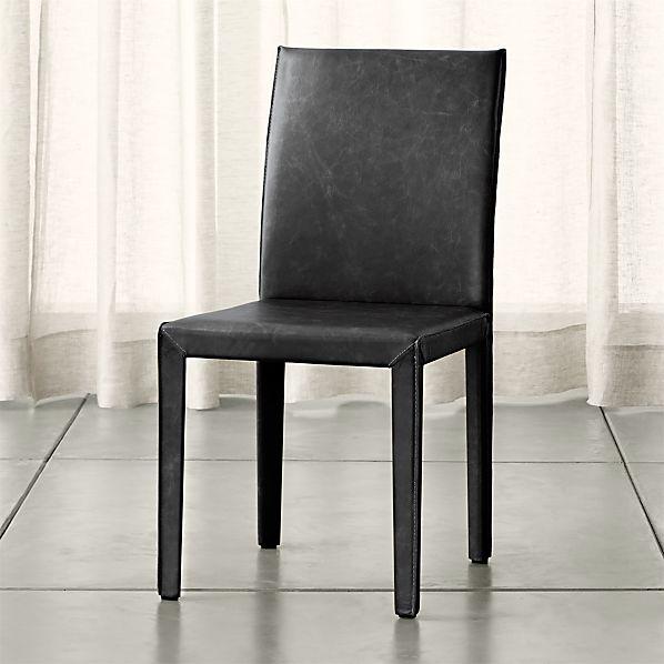 Folio Viola Top-Grain Leather Side Chair