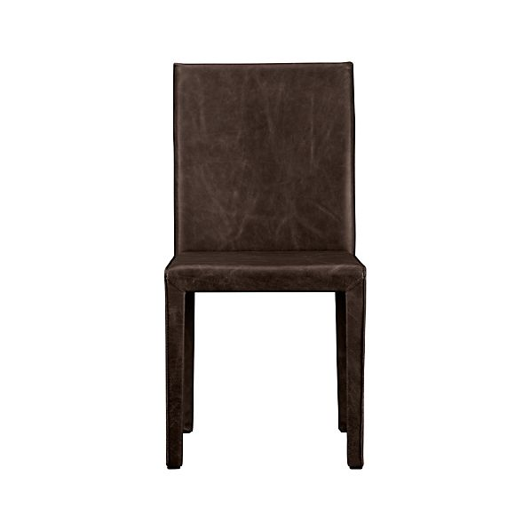 Folio Saddle Top-Grain Leather Side Chair