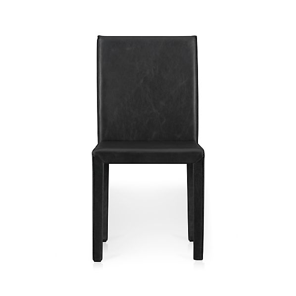 Folio Viola Top-Grain Leather Side Chair