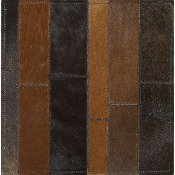 "Fonda Brown 12"" sq. Rug Swatch"
