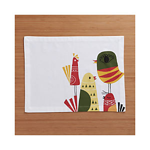 Four Calling Birds Placemat