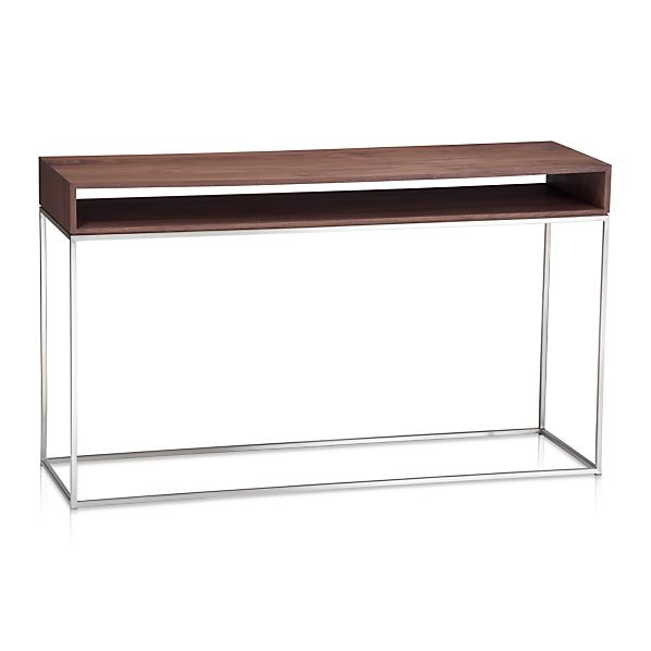 Frame Console Table In Coffee Tables Side Tables Crate And Barrel