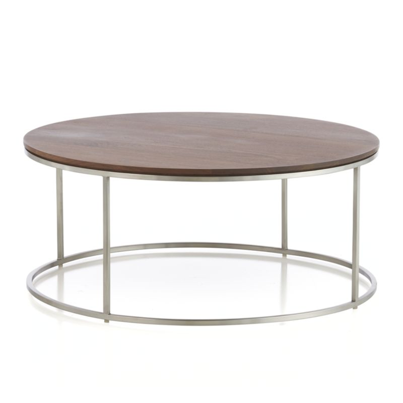 frame round coffee table in coffee tables side tables