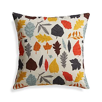 "Frappa 18"" Pillow with Feather-Down Insert"