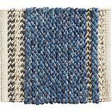 """Fraser Blue 12"""" sq. Rug Swatch"""