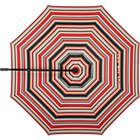 10' Round Sunbrella® Red Multi Stripe Umbrella Cover.