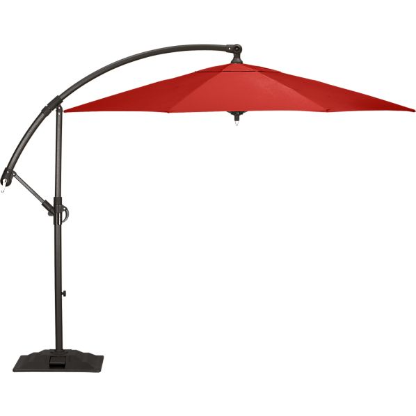 [TEMPLATE] 10' Round Sunbrella ® Free-Arm Umbrella with Base