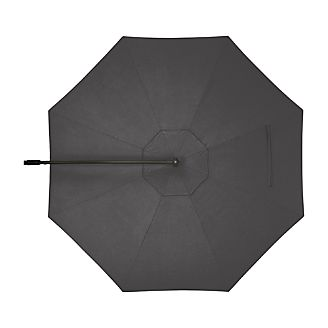 10' Round Sunbrella ® Charcoal Cantilever Umbrella Cover