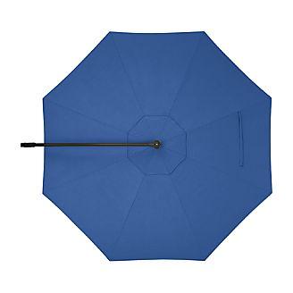 10' Round Mediterranean Blue Cantilever Umbrella Cover