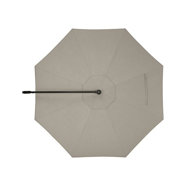 10' Round Sunbrella ® Stone Free-Arm Umbrella Cover