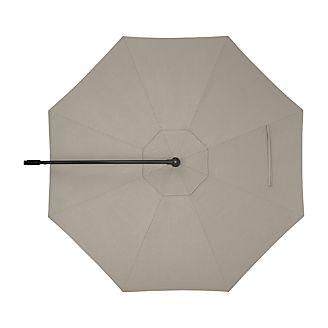 10' Round Sunbrella ® Stone Cantilever Umbrella Cover