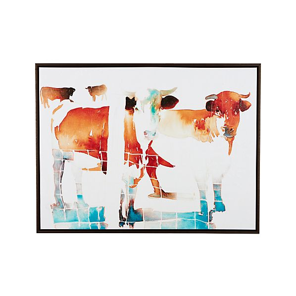 French Cow Print