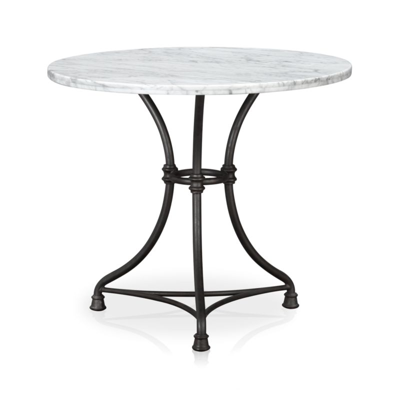 French kitchen bistro table in french kitchen dining tables crate and barrel - Crate and barrel kitchen tables ...