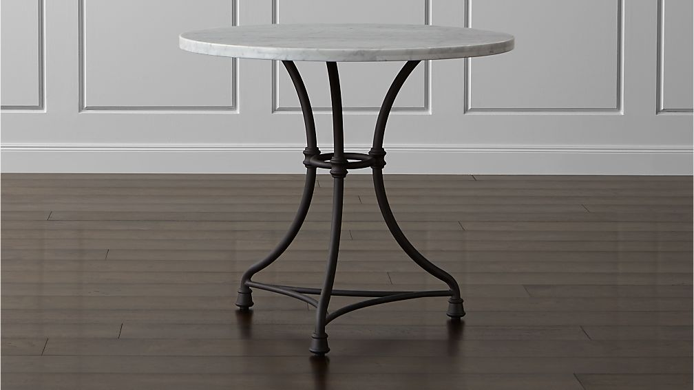 Crate And Barrel French Kitchen Table Marble