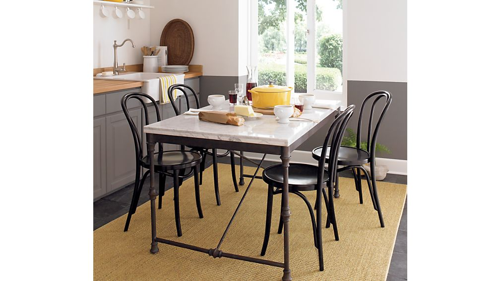 Vienna Black Wood Dining Chair