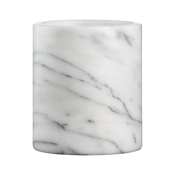 French Kitchen Marble Utensil Holder Crate And Barrel