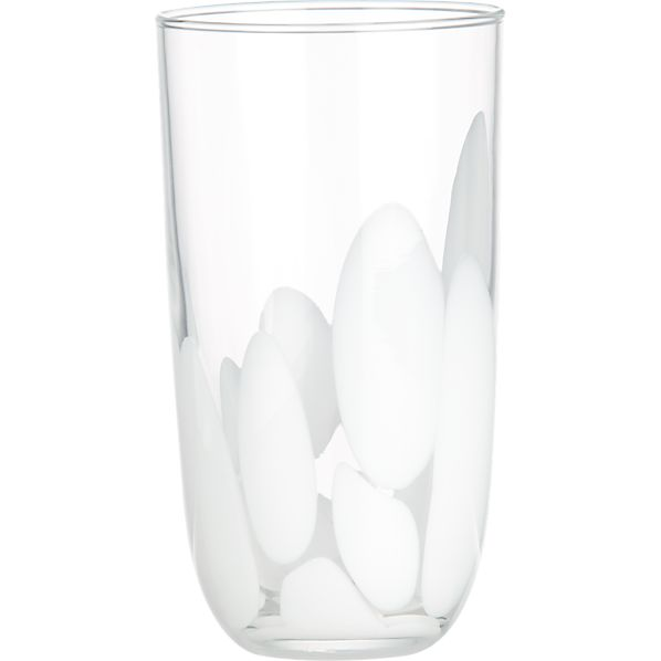 Frida White Highball Glass