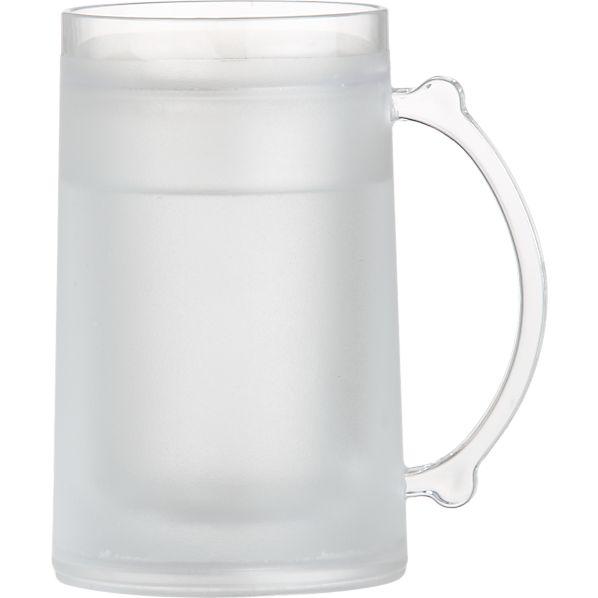 Frosty Clear Acrylic Mug