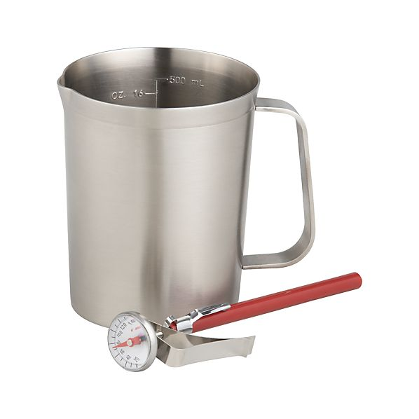 Frothing Pitcher with Thermometer
