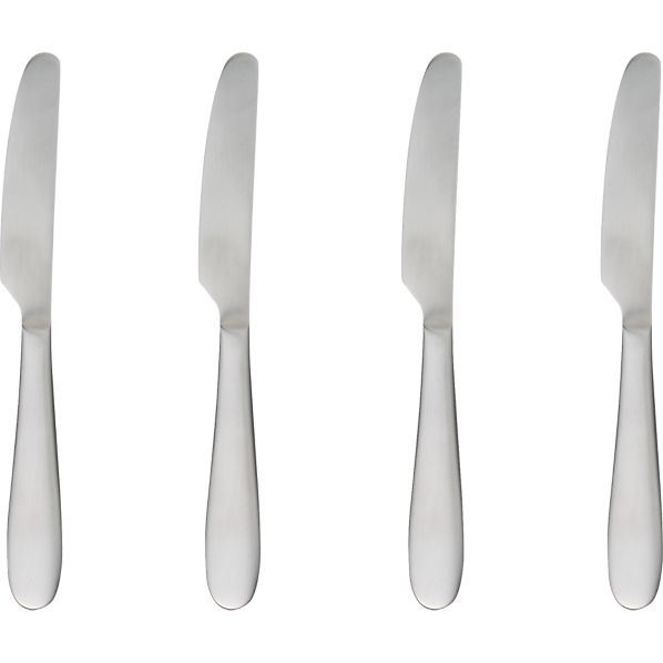 Set of 4 Fusion Butter Knives