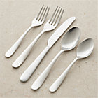 Fusion 20-Piece Flatware Set: four 5-piece place settings.