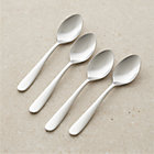 Set of four fusion teaspoons.