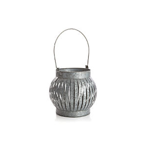 Galvanized Large Lantern