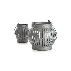 Galvanized Lanterns