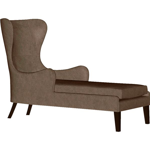 Garbo Leather Chaise
