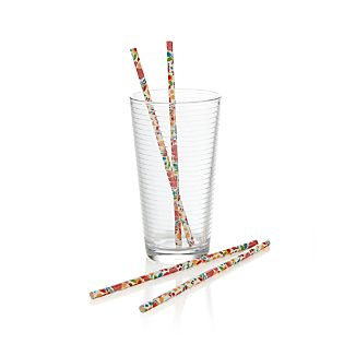 Garden Party Straws Set of 24