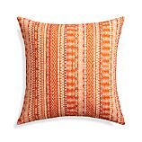 "Garvey 23"" Pillow with Feather-Down Insert"