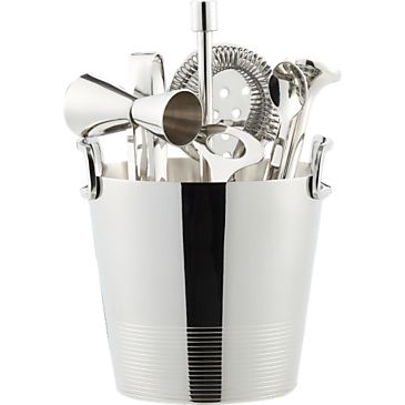 Gatsby Bar Tools with Ice Bucket