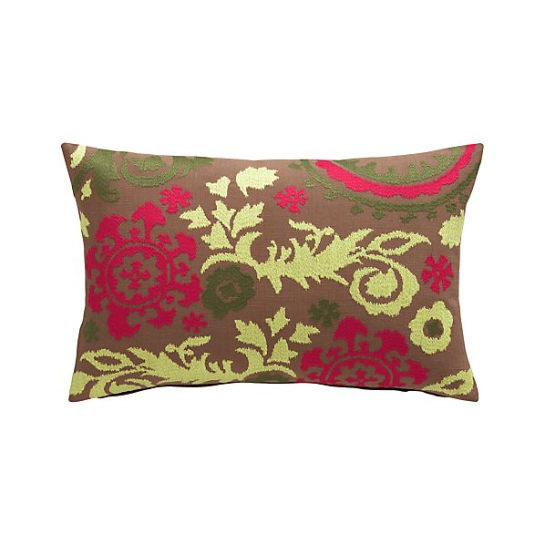 "Gemma 20""x13"" Pillow with Down-Alternative Insert"